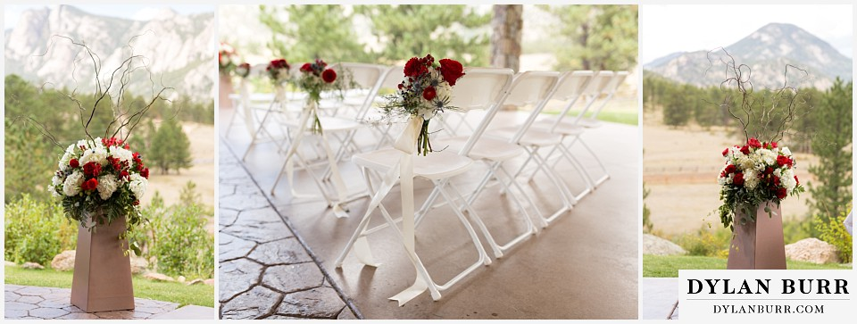 black canyon inn wedding decorations red roses
