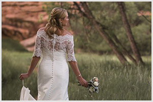 colorad bridal session red rocks