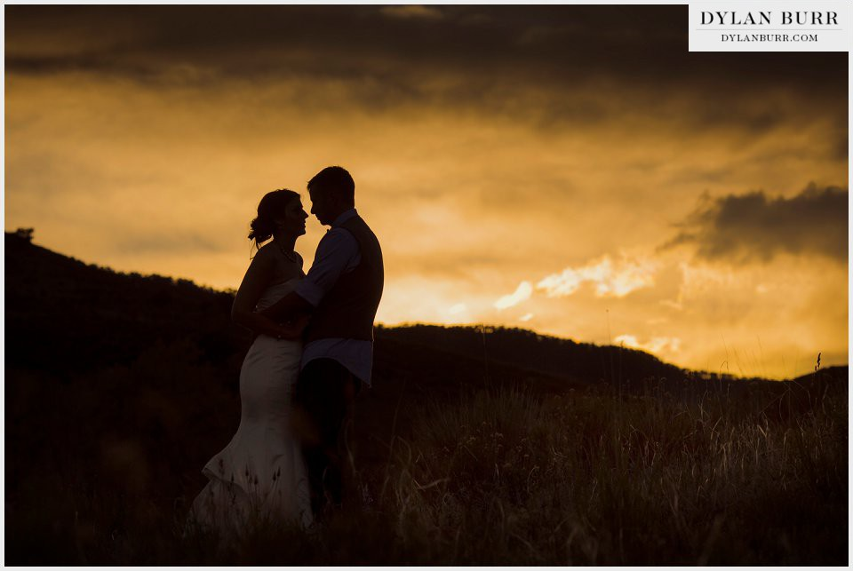 colorado sunset wedding photos silhouette.jpg