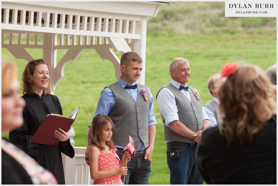 groom ceremony ellis ranch loveland colorado wedding