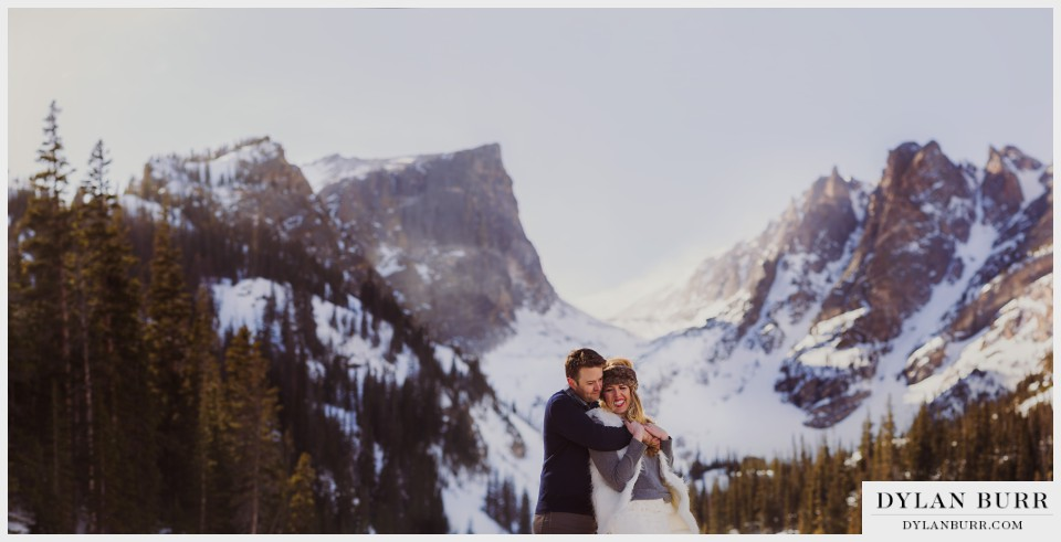 amazing colorado winter wedding photos