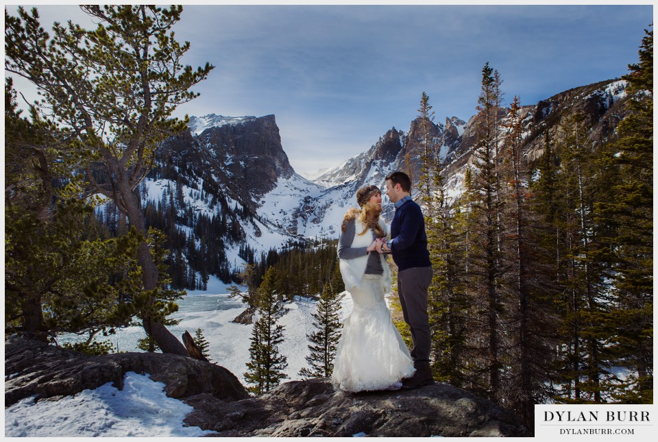 colorado winter wedding anniversary photos