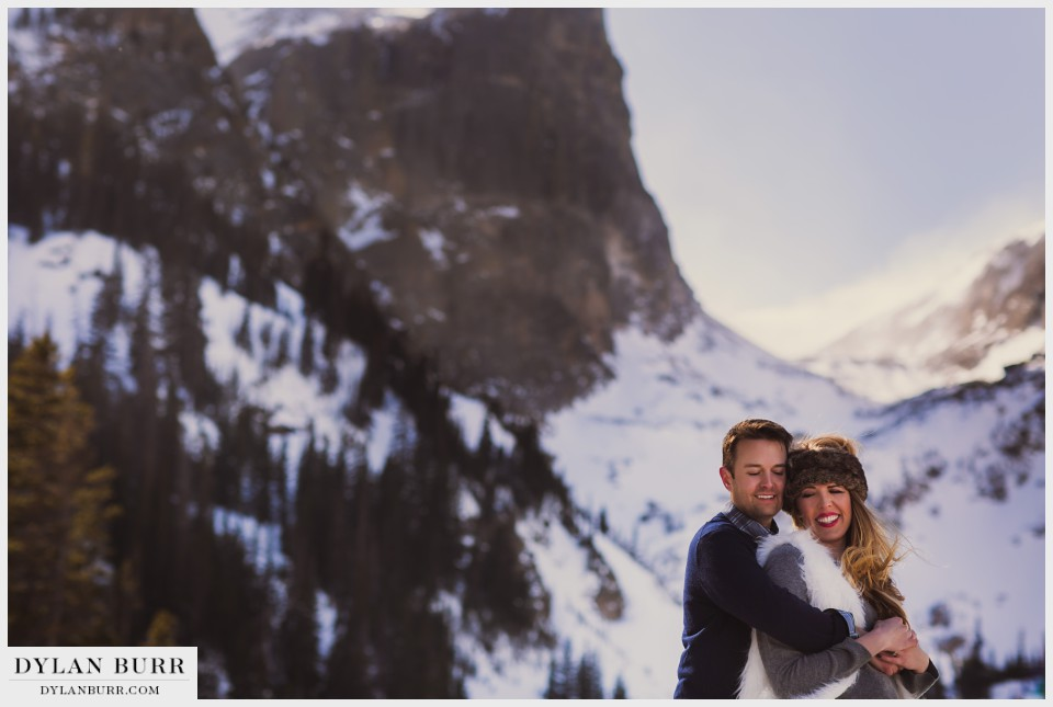 colorado winter wedding anniversary rocky mountain national park