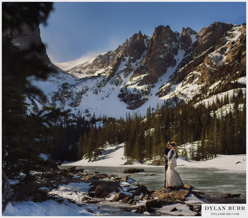 dream lake colorado winter wedding anniversary