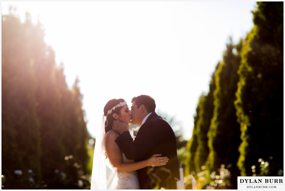 colorado wedding photographer denver botanic gardens first kiss persian cermony