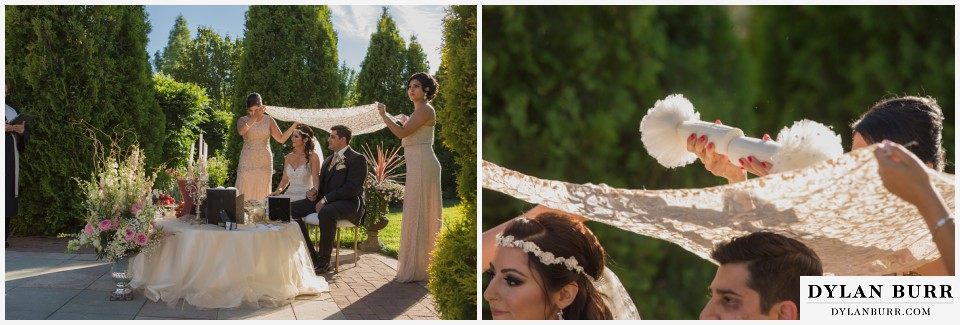 colorado wedding photographer denver botanic gardens persian wedding ceremony