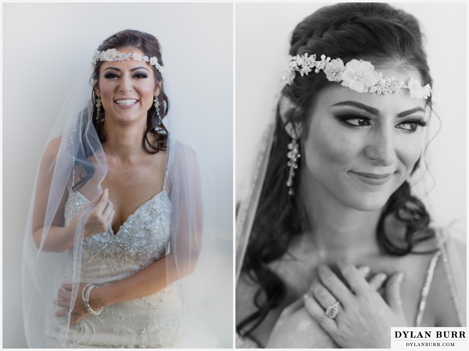 colorado wedding photographer denver halcyon hotel persian bride