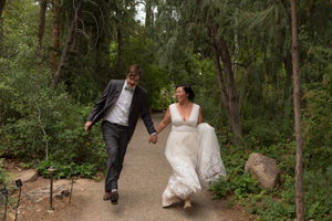 denver botanic gardens wedding colorado woodland mosaic