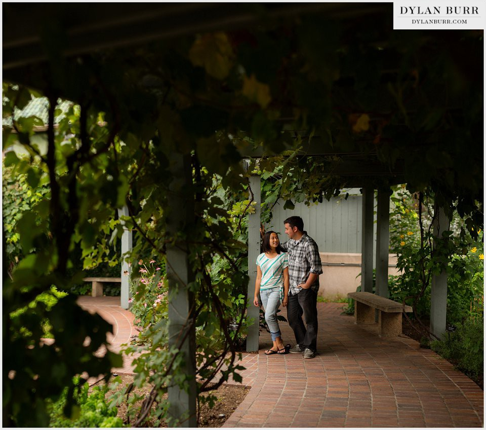 beautiful engagement photography denver botanic gardens