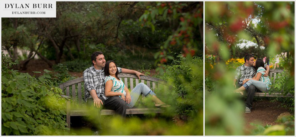 denver engagement photography botanic gardens