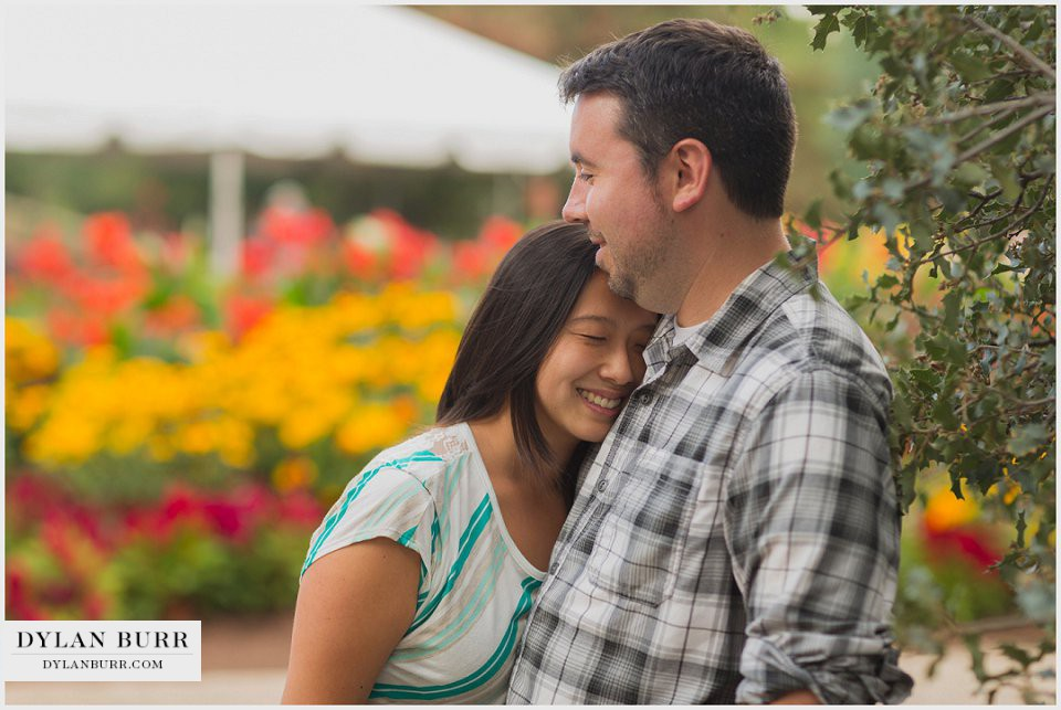 denver engagement photos botanical gardens