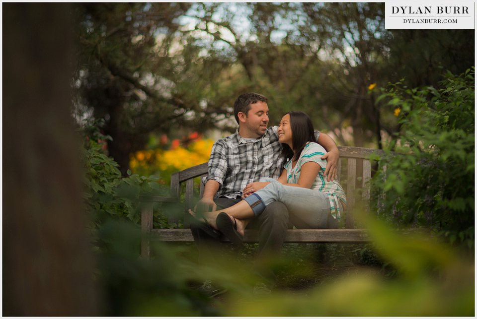 denver engagement session botanic gardens