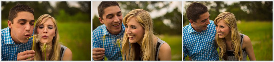 denver engagement photography blowing wishes wisher