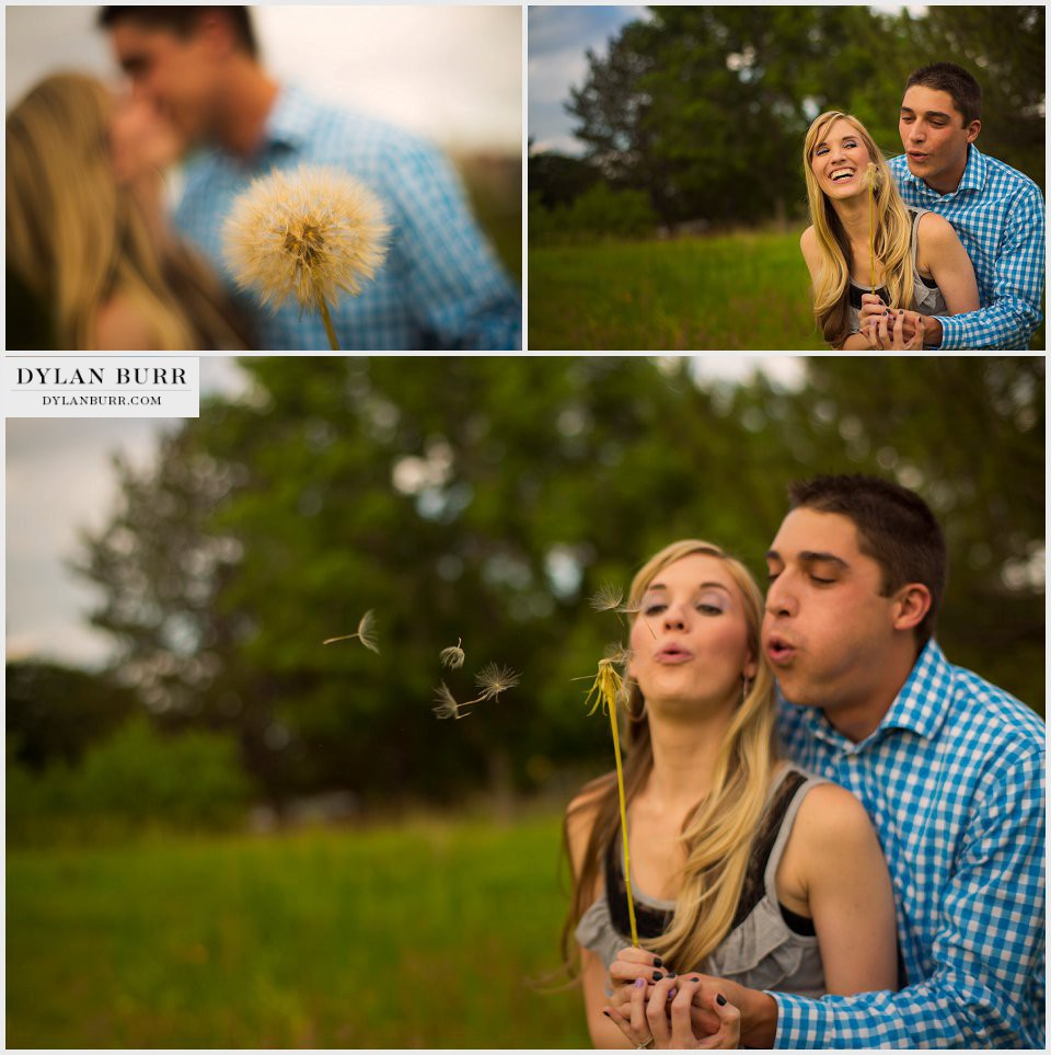 denver engagement photos making a wish