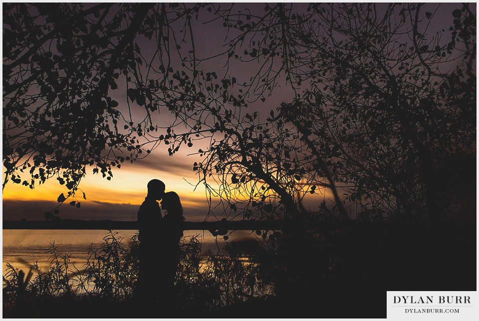 sunset engagement photographer