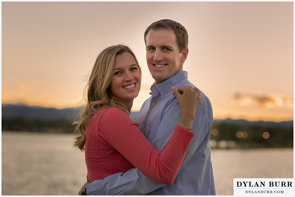 denver colorado engagement session near sloans lake