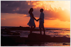 turks caicos destination wedding sunset session