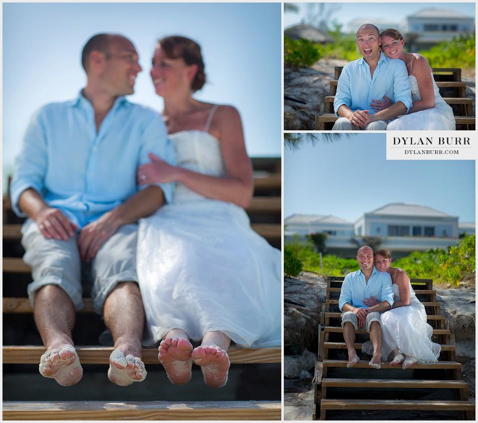 destination beach wedding sandy toes relaxing