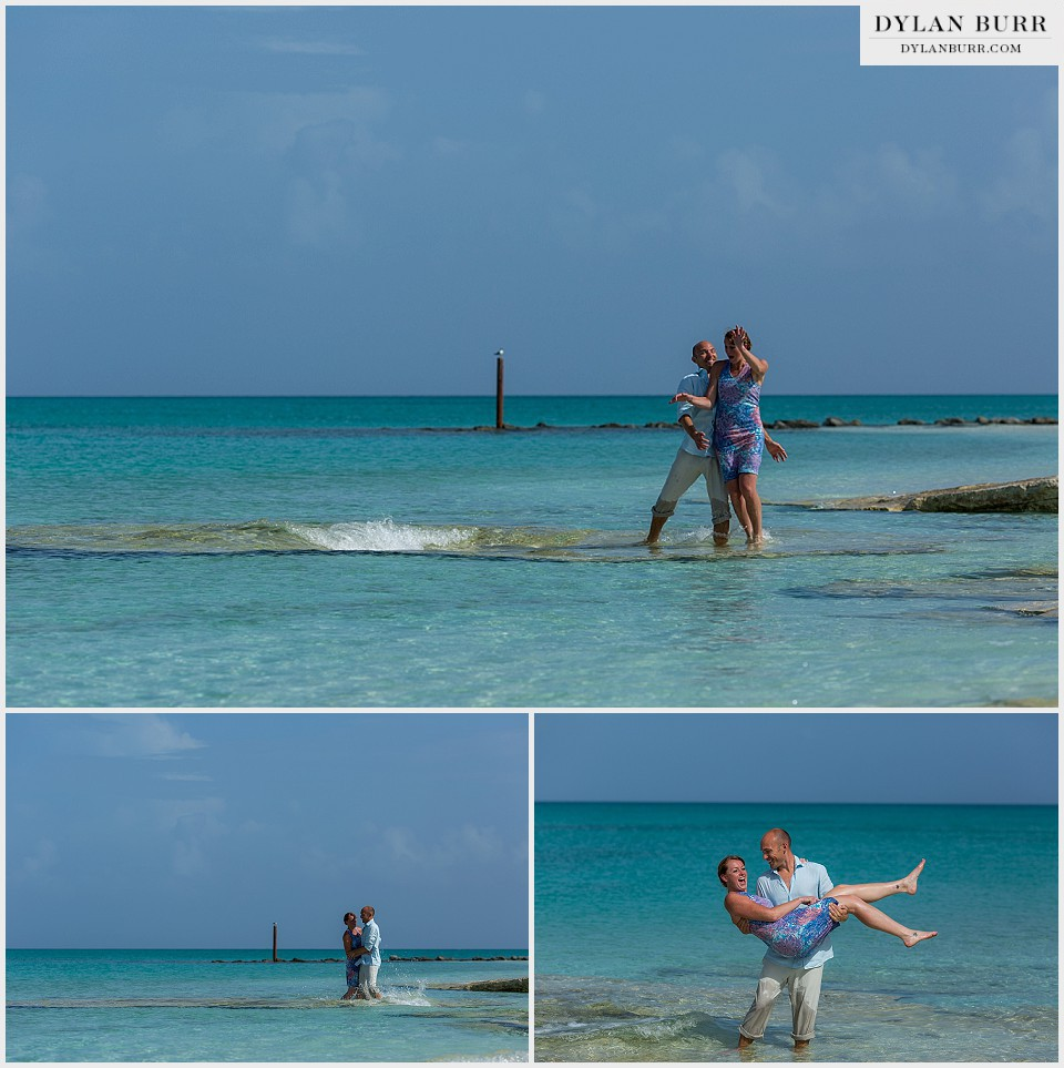 destination wedding pelican beach playing turks caicos