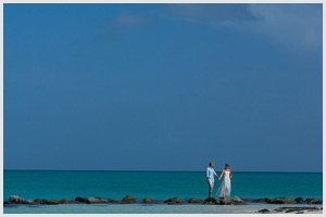 turks caicos destination wedding pelican beach erin nic