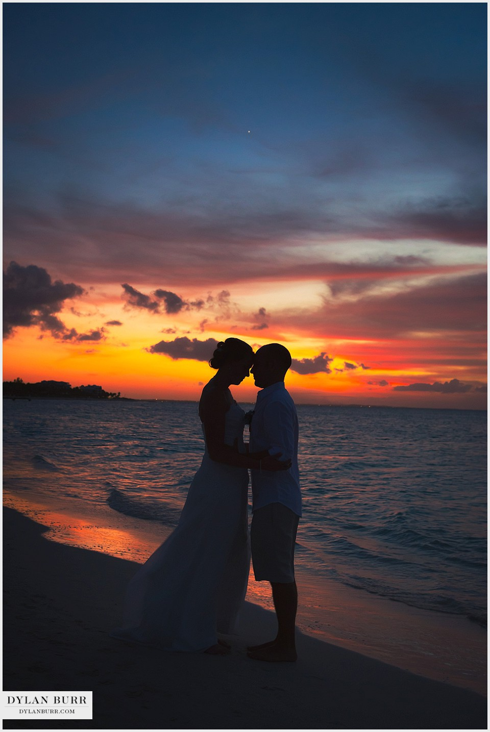 Destination Beach Wedding In Turks And Caicos Erin Nic