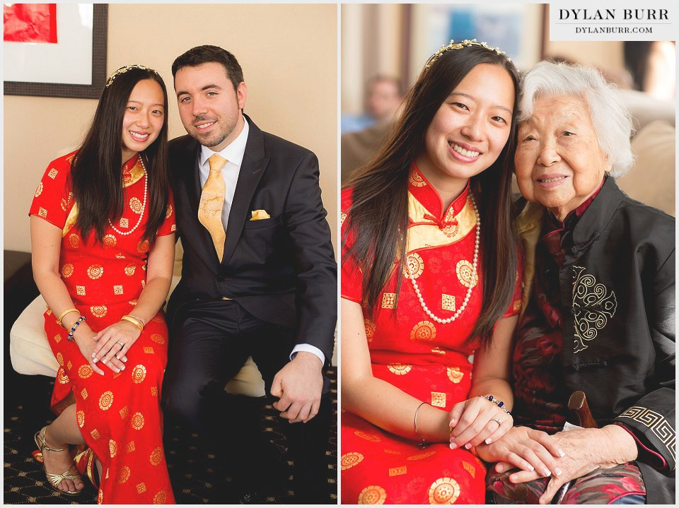 destination chicago wedding chinese tea ceremony grandmother