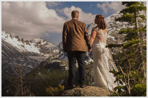black canyon lodge wedding estes park