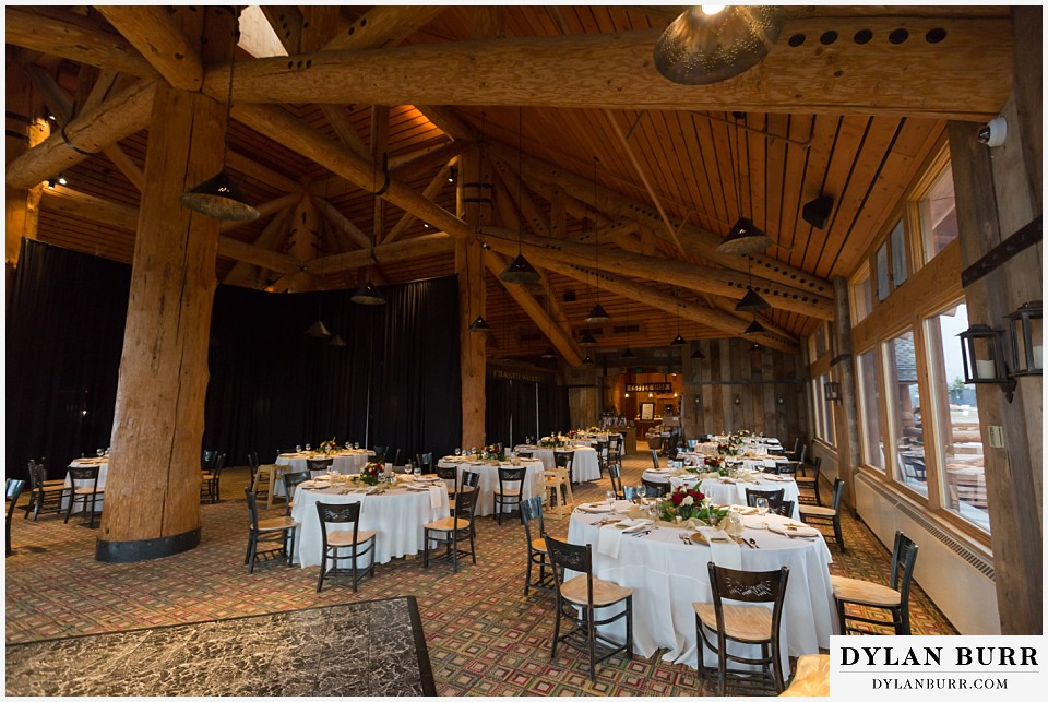 the lodge at sunspot wedding winter park reception venue