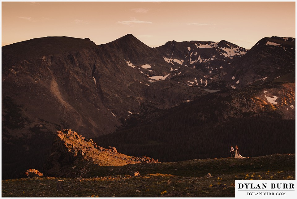 get married in colorado rocky mountains estes park rocky mountain national park elopement
