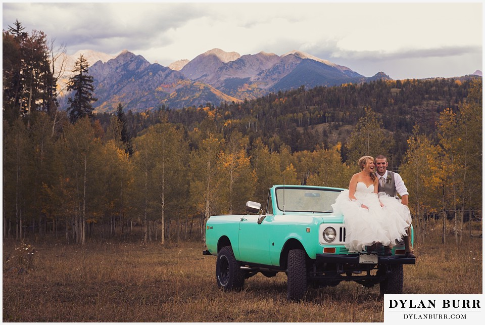 get married in colorado rocky mountains silverpick durango wedding
