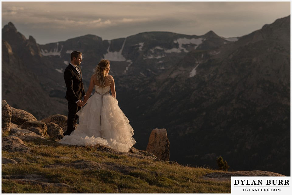 rocky mountain national park elopement adventure wedding