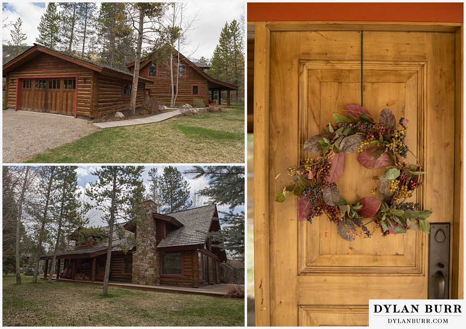 grand teton destination wedding cabin rental