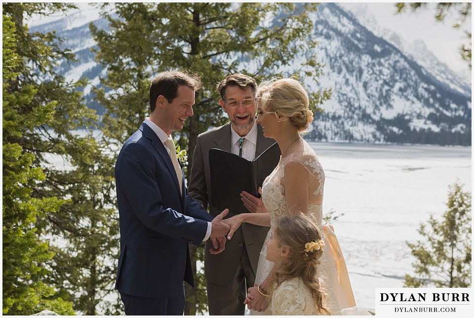grand teton destination wedding ceremony