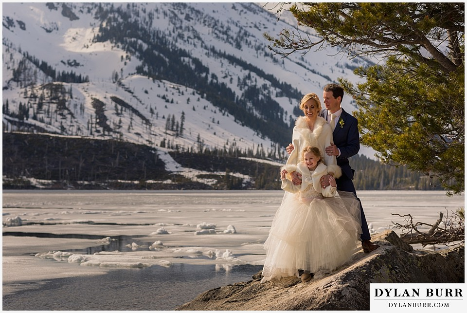 grand teton destination wedding new family