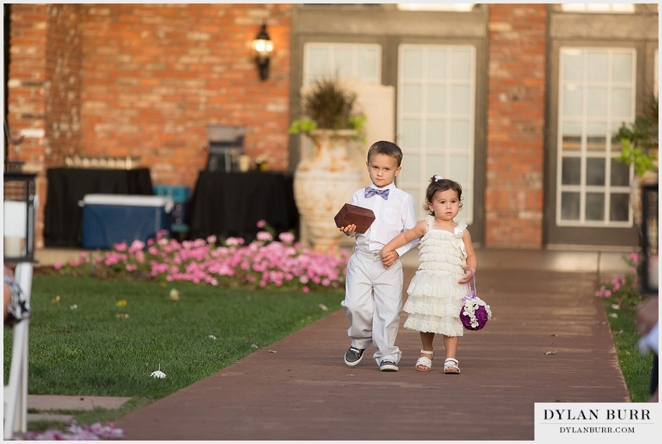 lionsgate center gatehouse wedding flower girl ring bearer