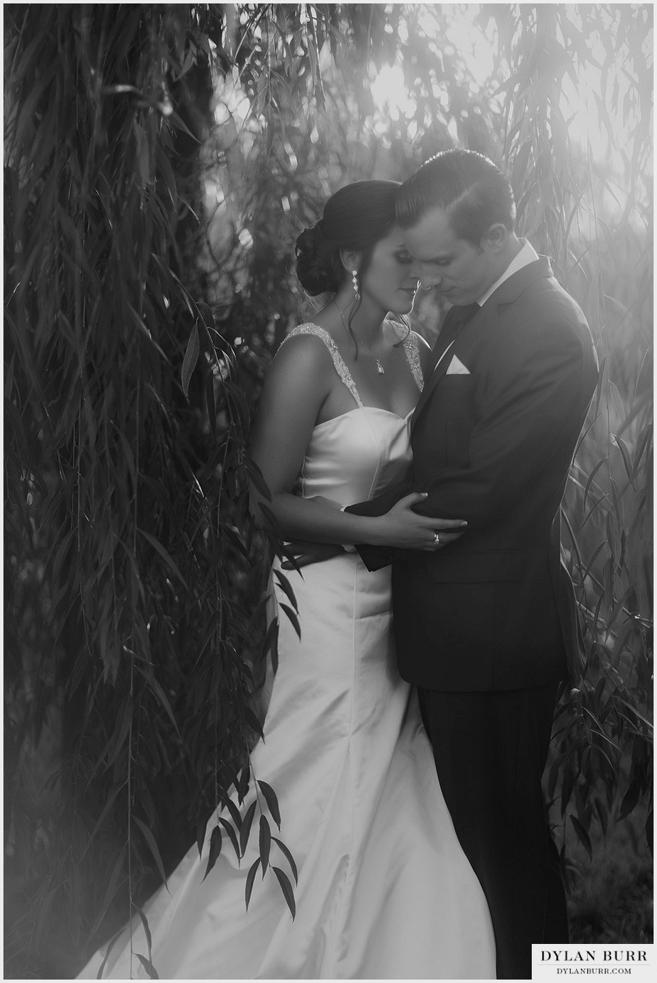 lionsgate center wedding bride groom vintage black white
