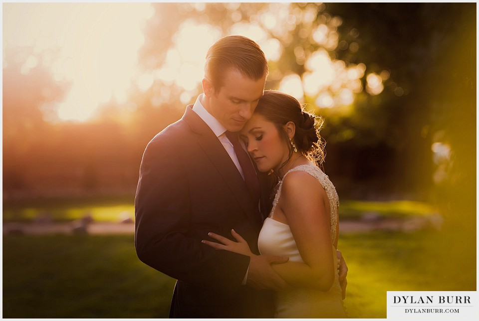 lionsgate center wedding sunset couple bride groom