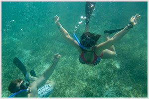 maroma adventures-destination wedding adventure snorkling