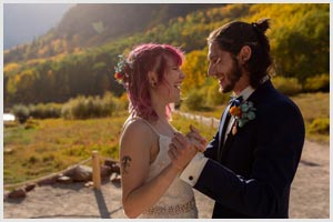 maroon bells wedding aspen colorado mountain wwedding