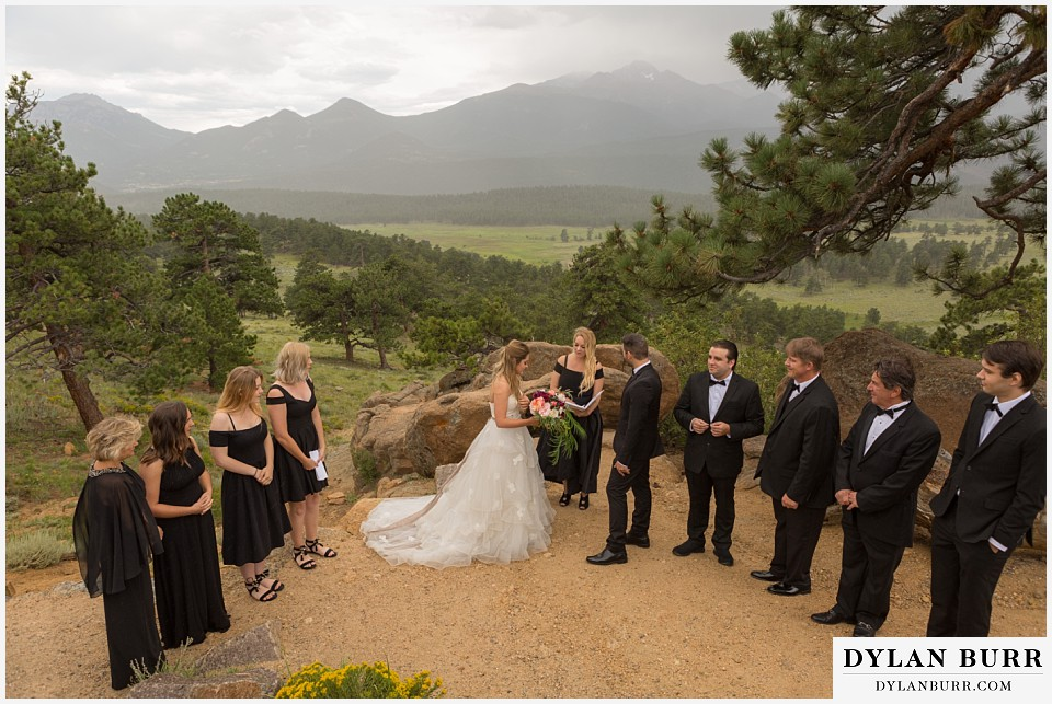 rocky mountain national park elopement adventure wedding ceremony at 3m curve