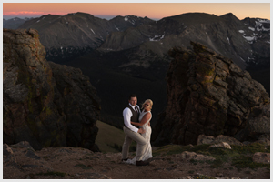 rocky mountain national park wedding elopement trail ridge