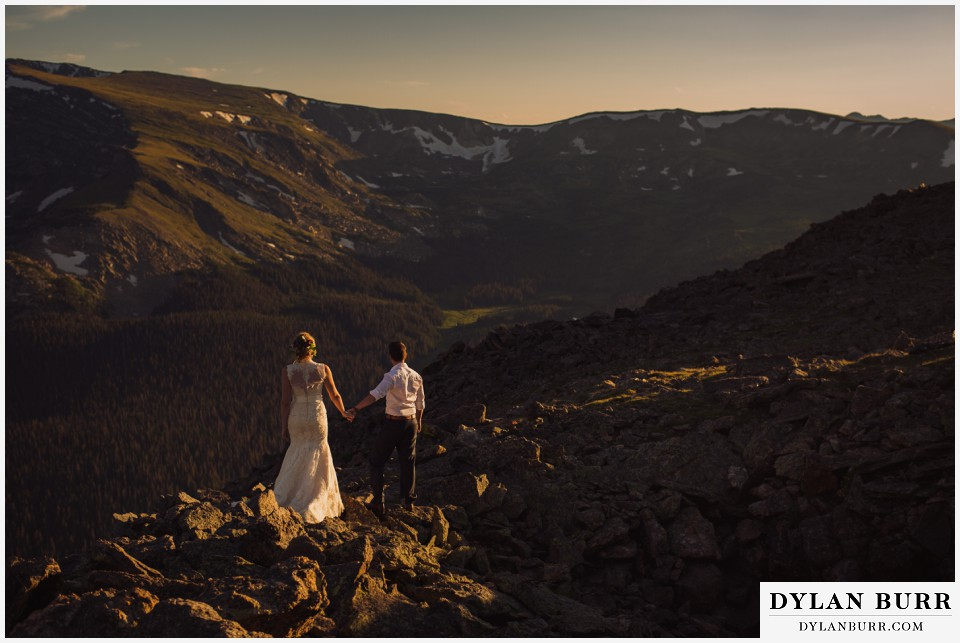 estes park mountain wedding rocky mountain national park
