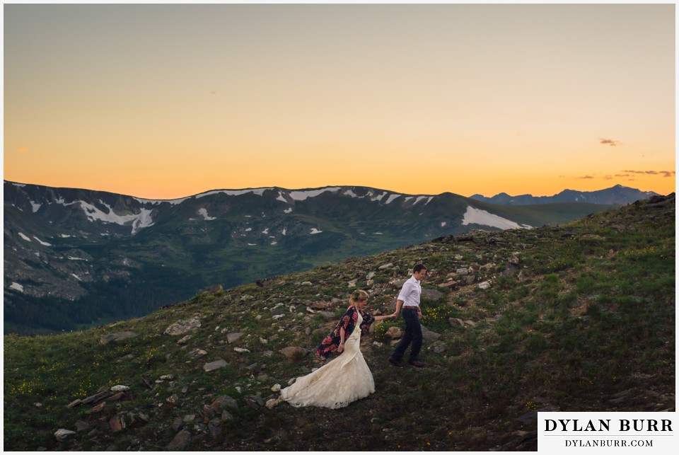 estes park wedding high alpine wedding rocky mountain national park