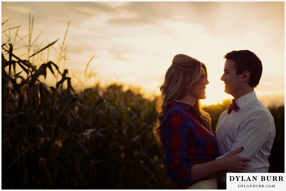 fall colorado wedding photos sunset colorado wedding photographer