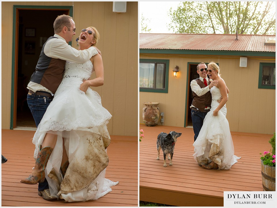 Outdoor Rustic Montrose Colorado Wedding Colorado Wedding