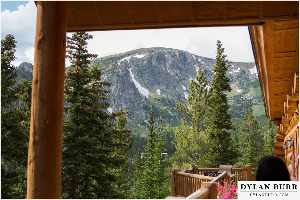 colorado mountain wedding ceremony silverlake lodge idaho springs