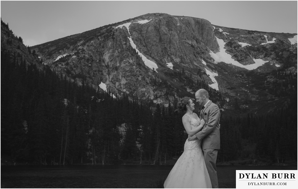 colorado wedding photos silverlake lodge big mountains