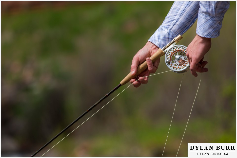 colorado wedding venue aspen fly fishing