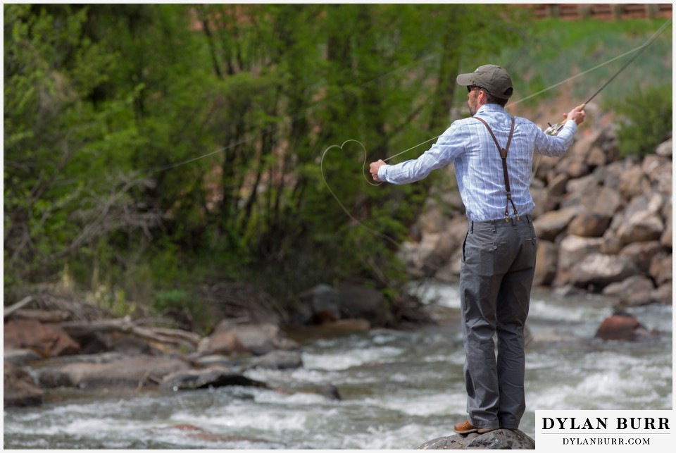 colorado wedding venues aspen fly fishing