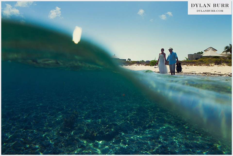 underwater wedding photography big wave